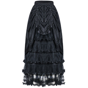 Gothic Layer Maxi Skirt 119