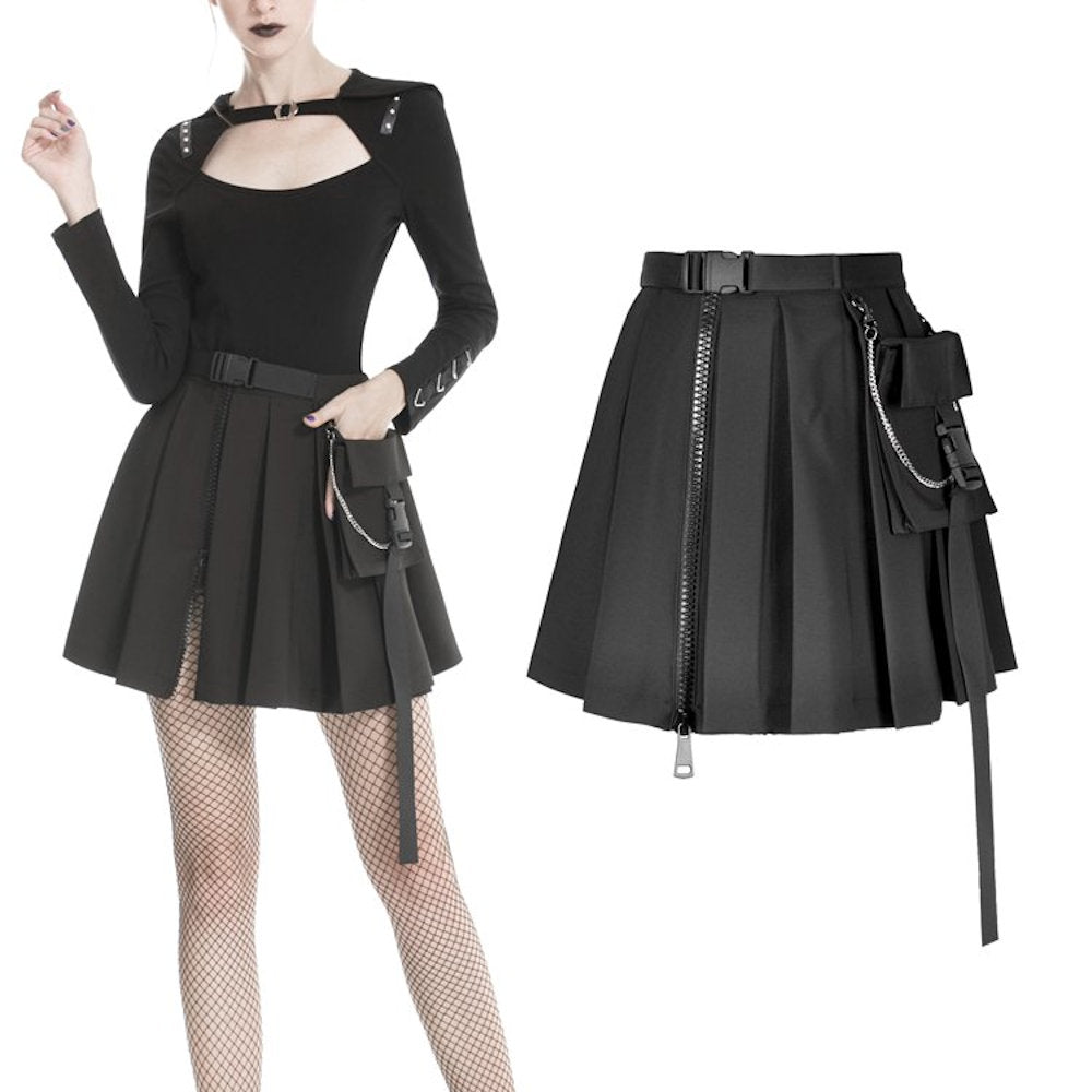 Dark In Love Military Punk Skirt 152