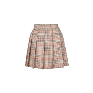 Pink Checked Skirt 171