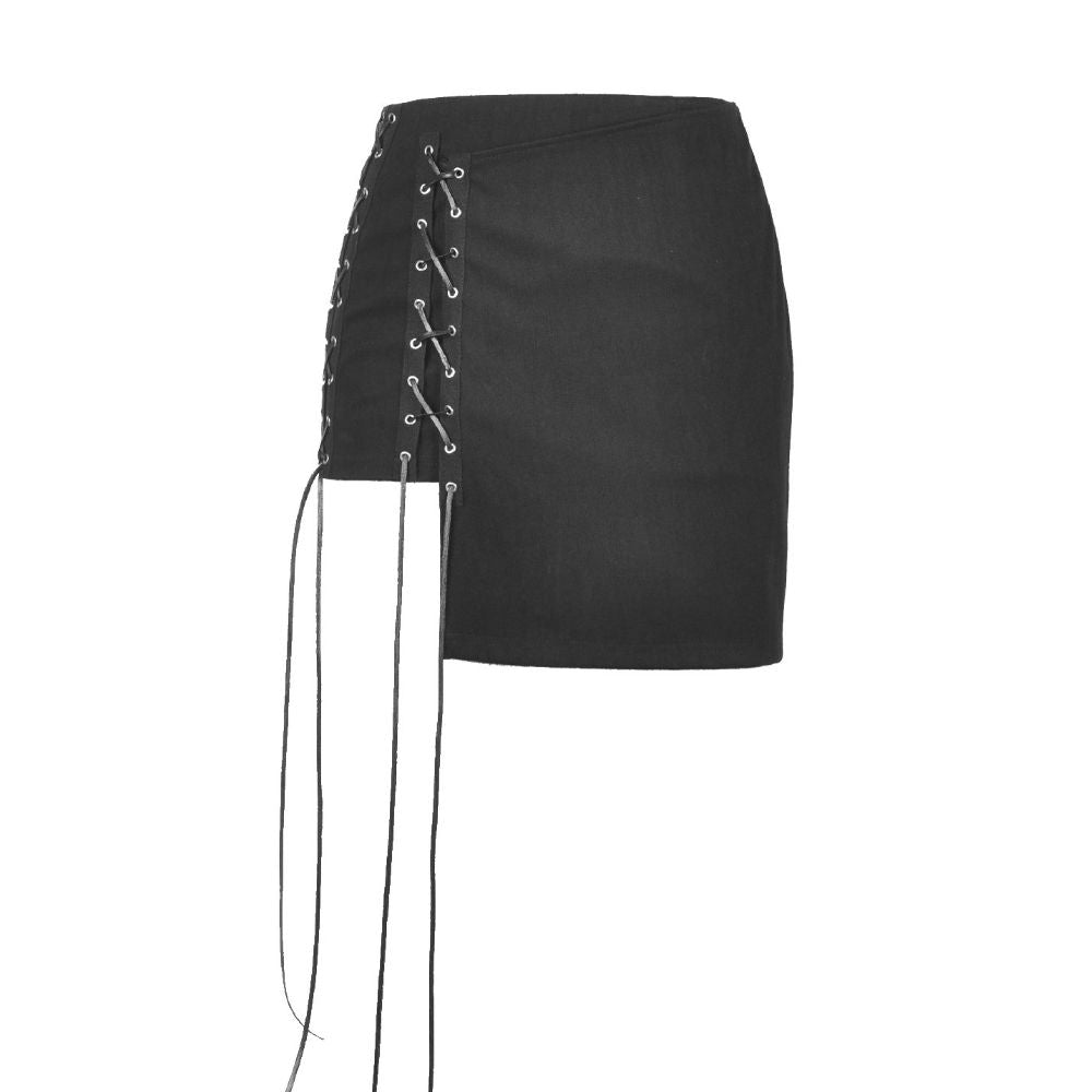 Punk Corset Mini Skirt
