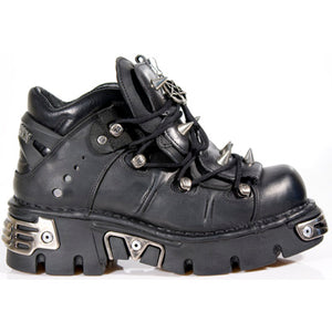 New Rock Ankle Boot Spiked  M-110-S1