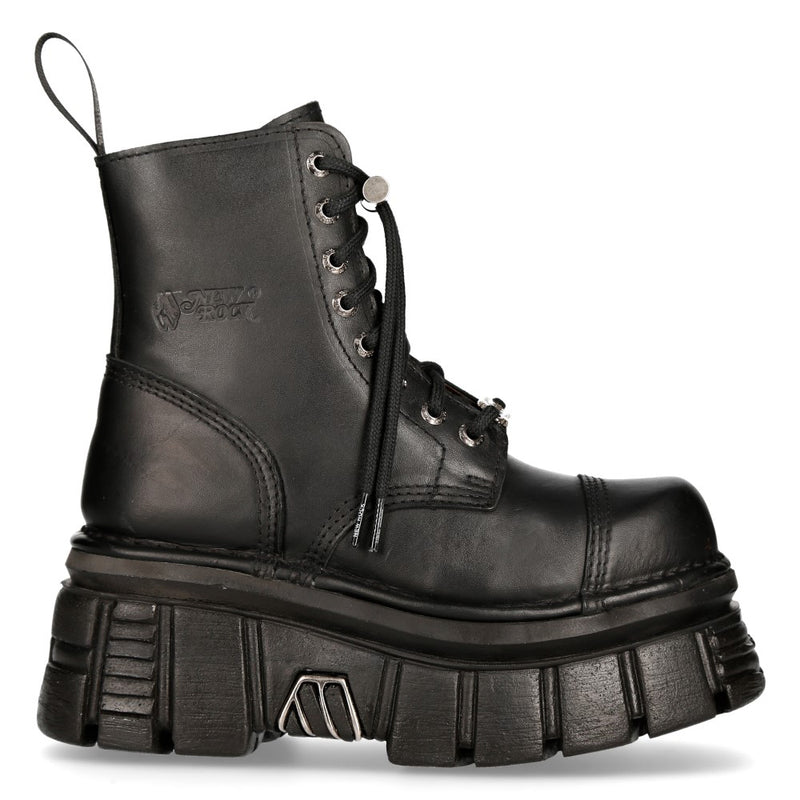 New Rock Combat Boot Metallic M-Newmili083-S21