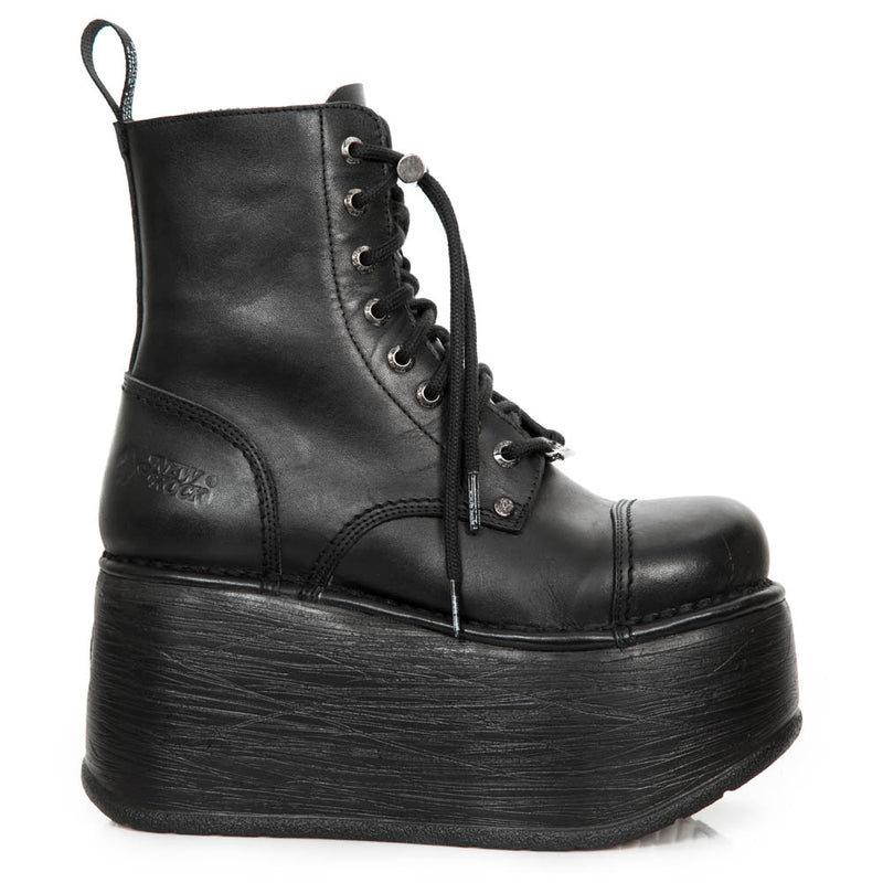 New Rock Metallic Platform Boot M-Newmili083-S38