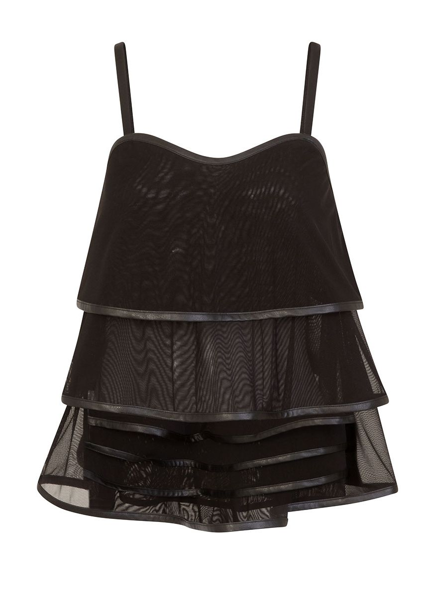 Necessary Evil Lucina Mesh Top