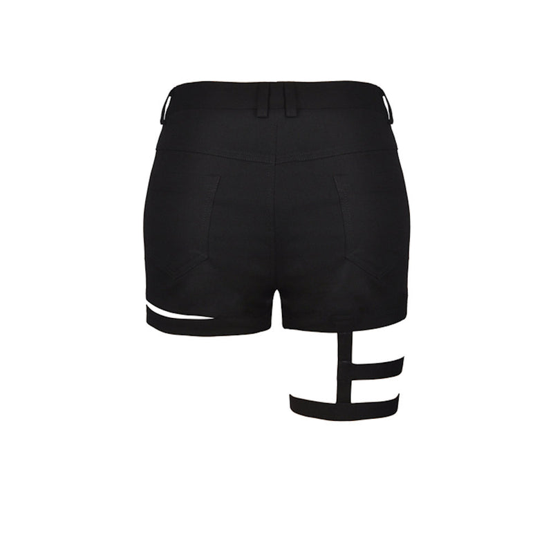 Bandage Thigh Irregular Shorts PW103
