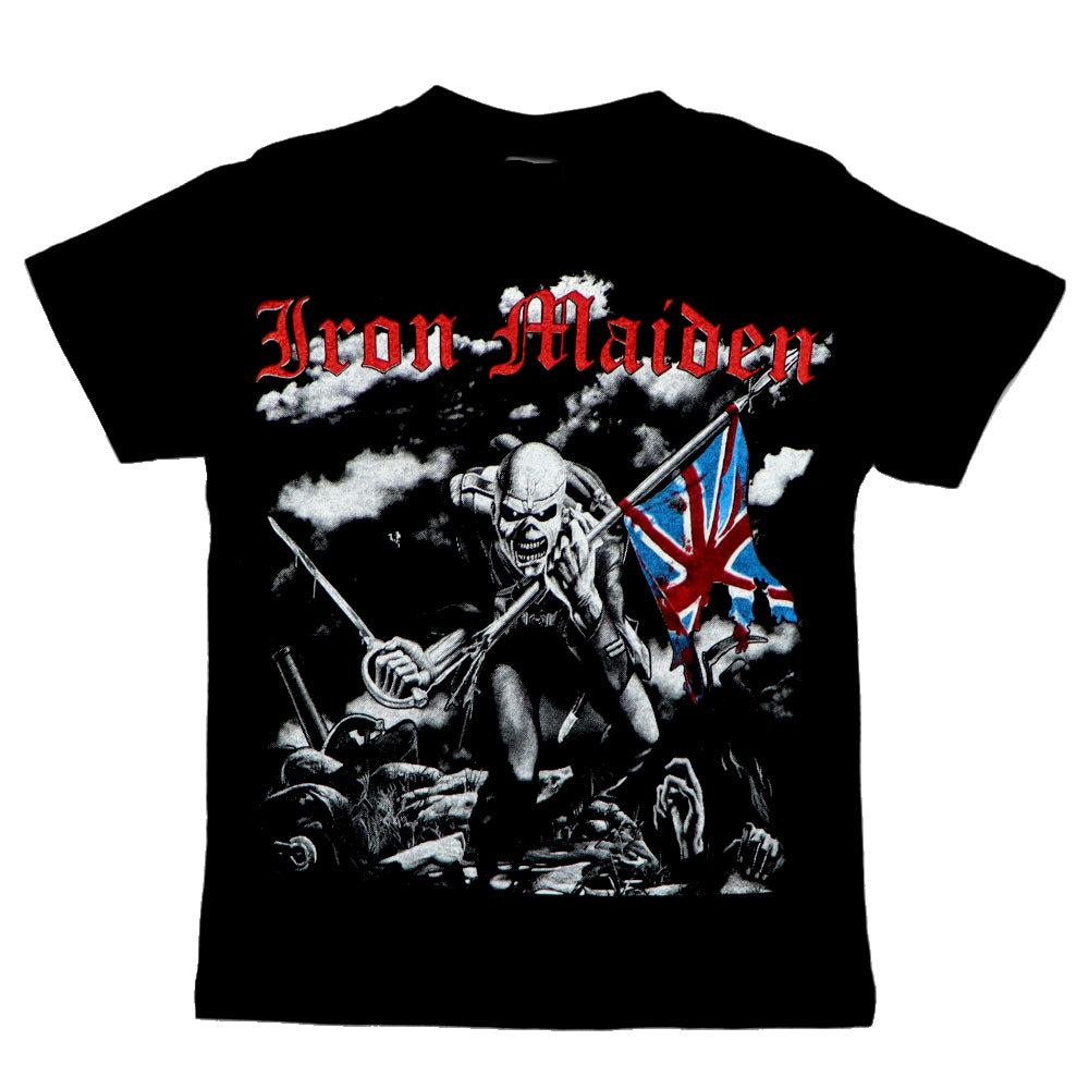 Iron Maiden Trooper Kids Tee