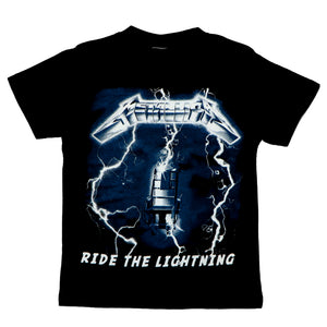Metallica Ride Lightning Kids Tee