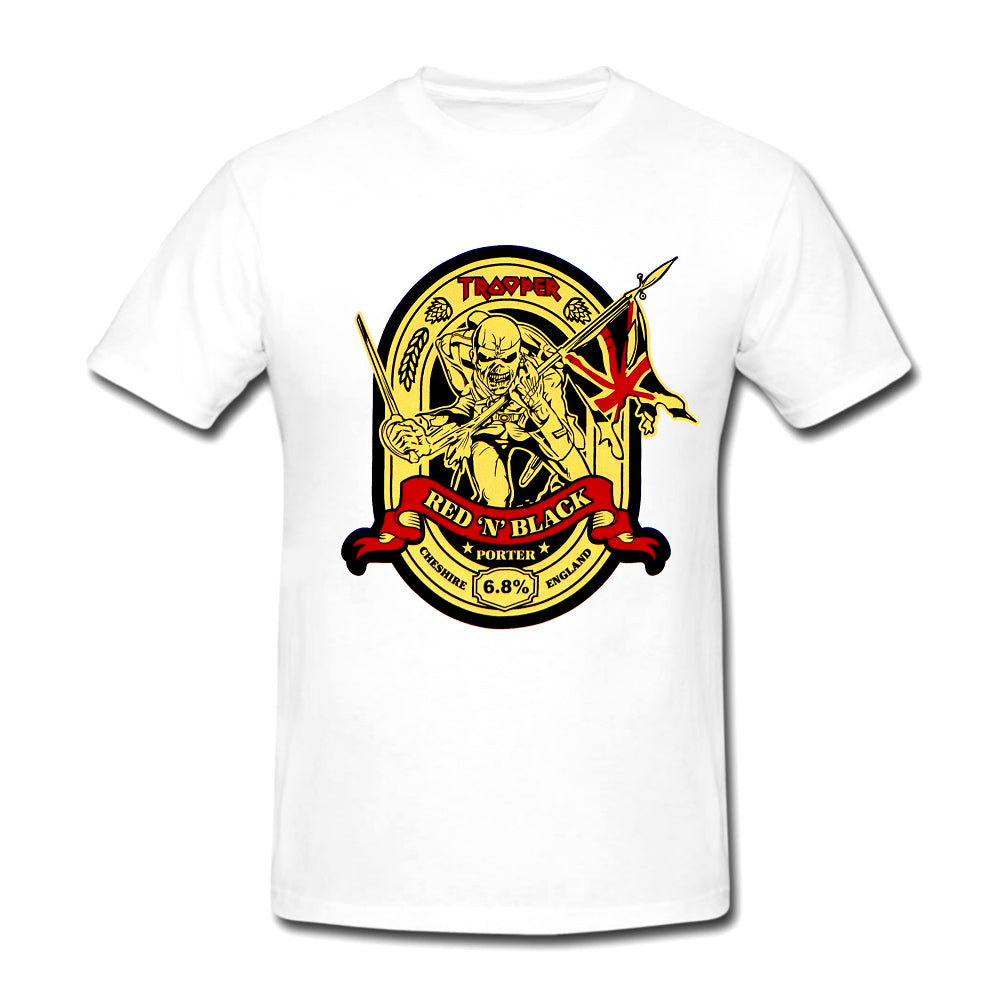 Iron Maiden White Trooper Tee