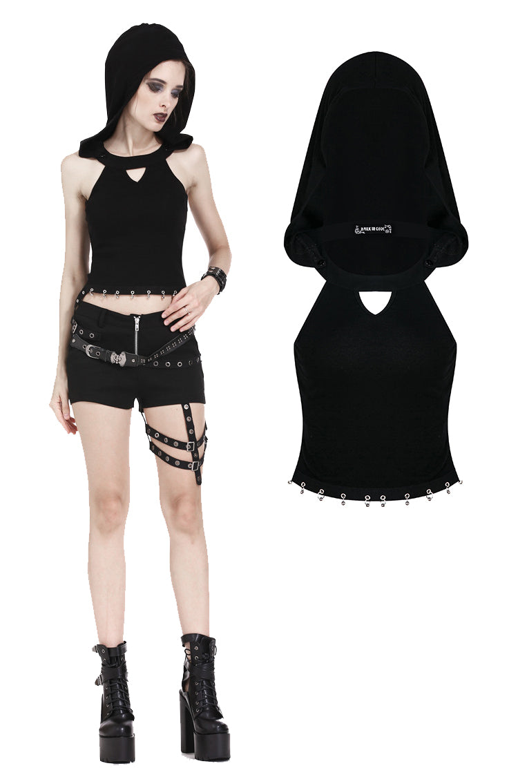Hooded Punk Top 159