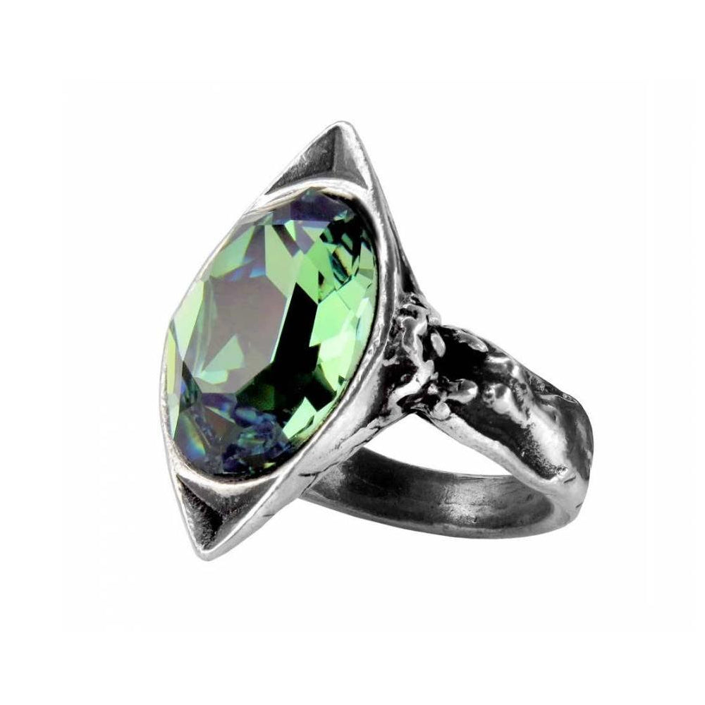 Alchemy England Absinthe Fairy Spirit Crystal Ring