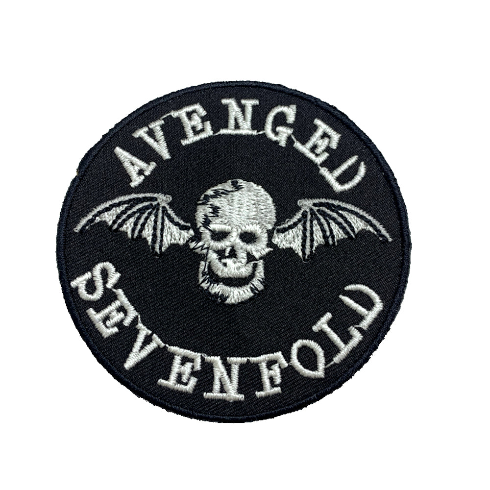 Avenged Sevenfold Skull Patch