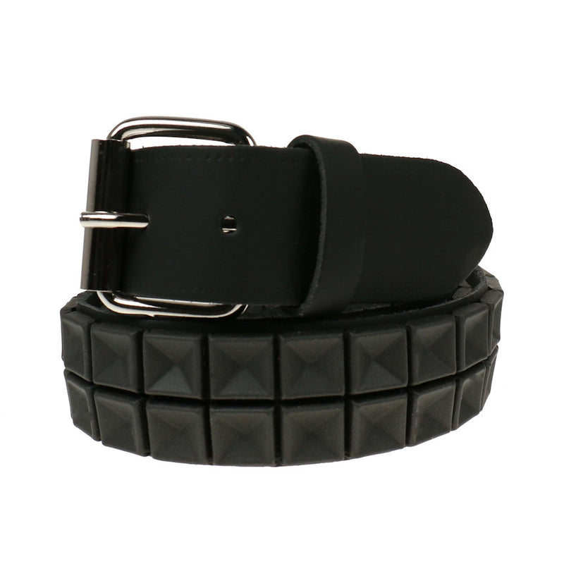 B840- 2 Row Rubber Leather Belt