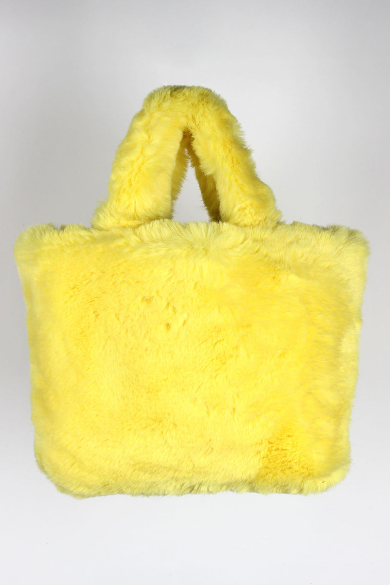 One Direction Have A Nice Tripp Faux Fur Bag