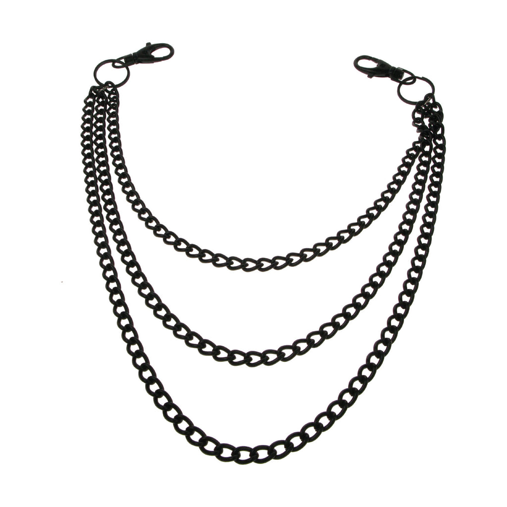 CH03 - Triple BLK Metal Chain