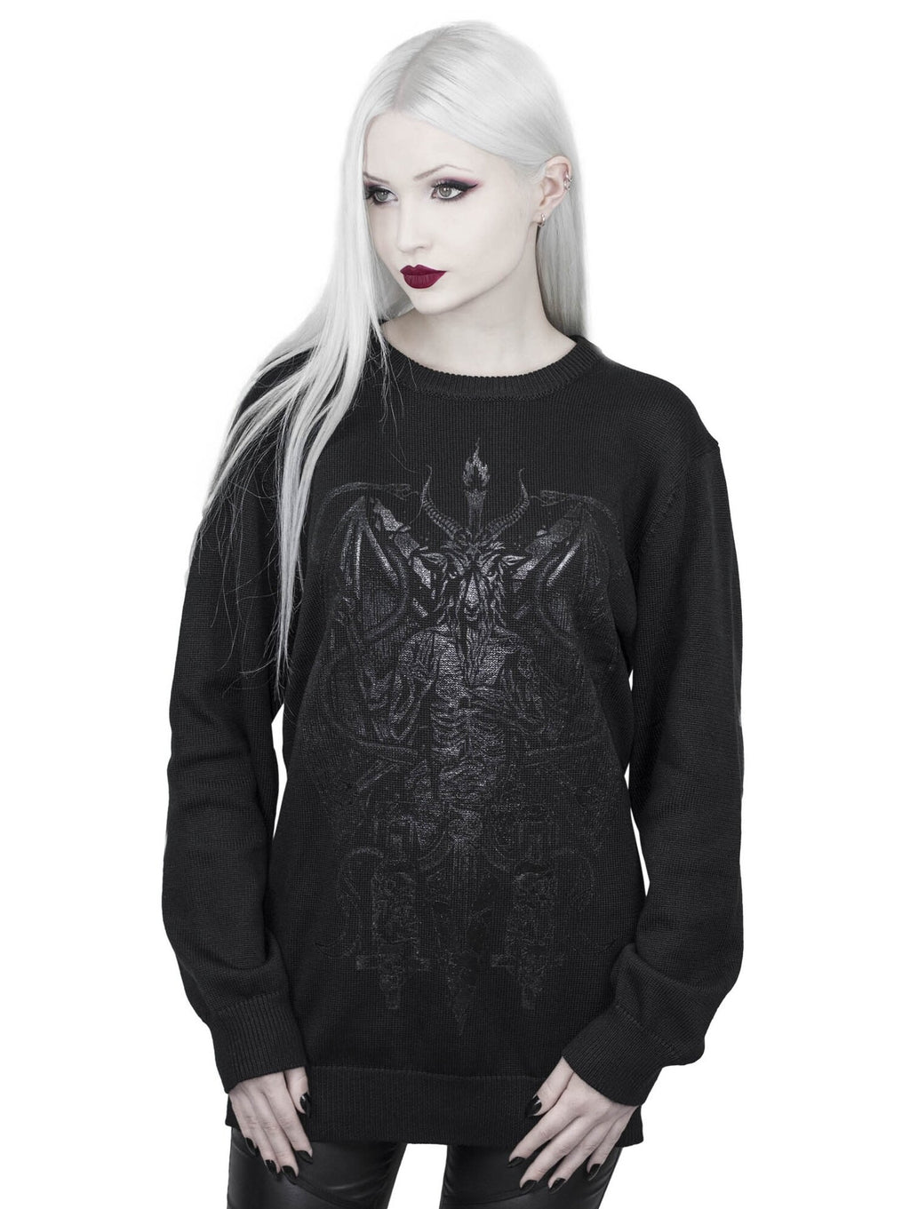 Killstar Dark Prince Knit Sweater