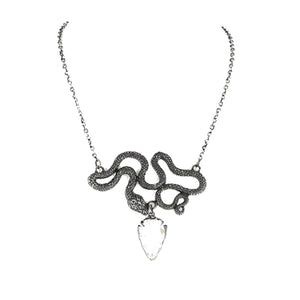 Entwine Silver Necklace