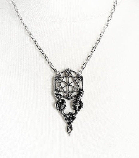 Restyle Sacred Snakes Necklace