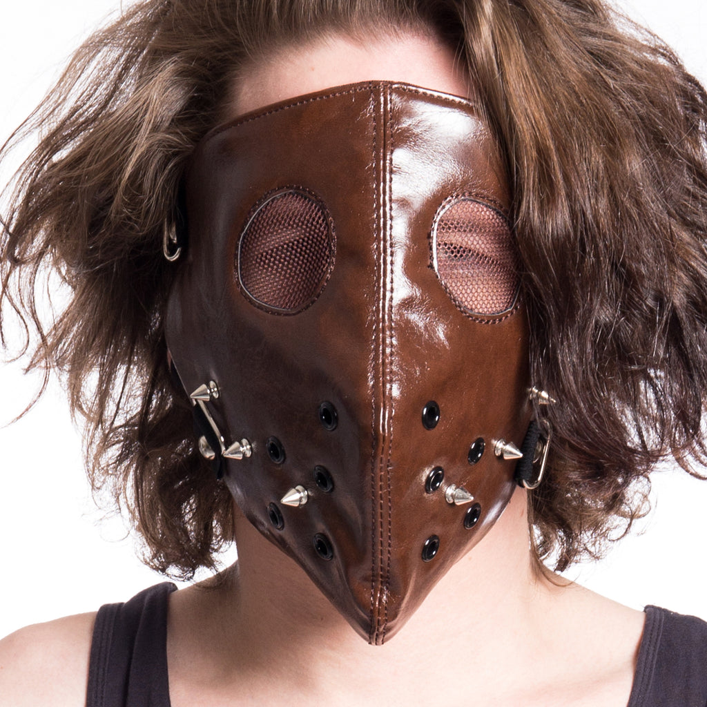 Hannibal Face Mask Brown