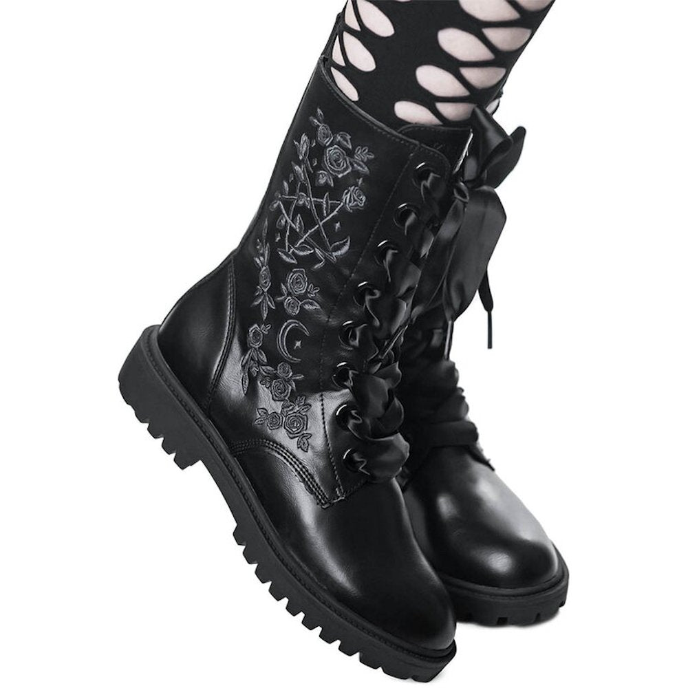 Killstar Enchanted Combat Boots