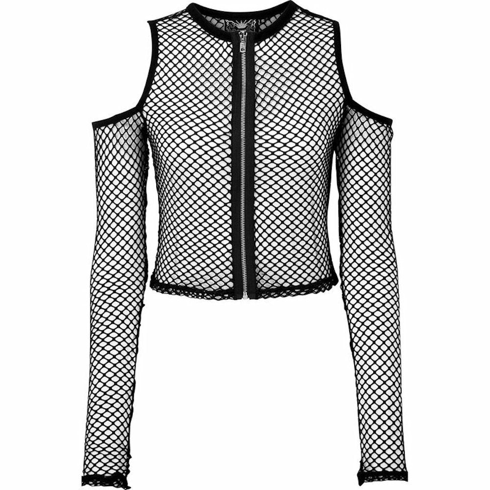 Killstar Roxx Fishnet Top