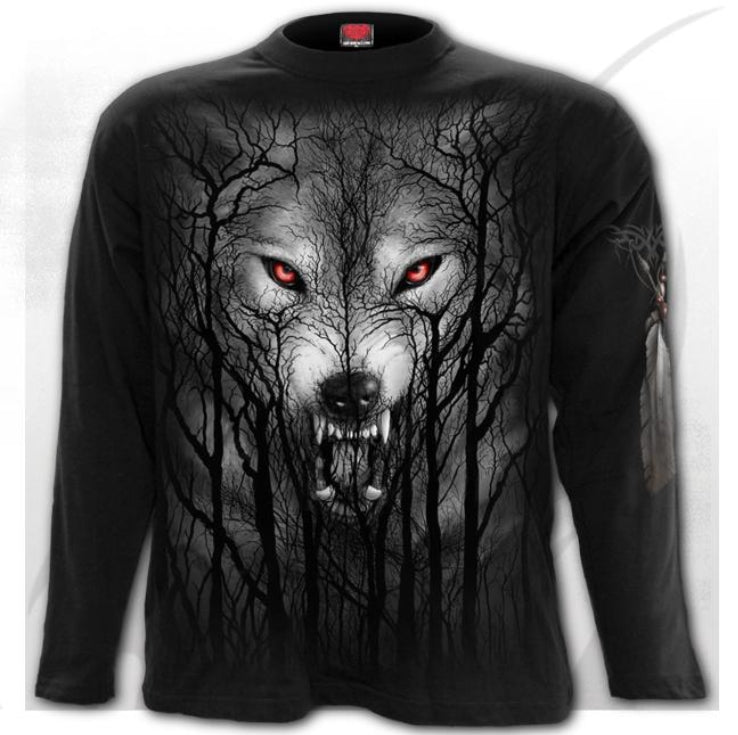 Spiral Direct Forest Wolf Longsleeve