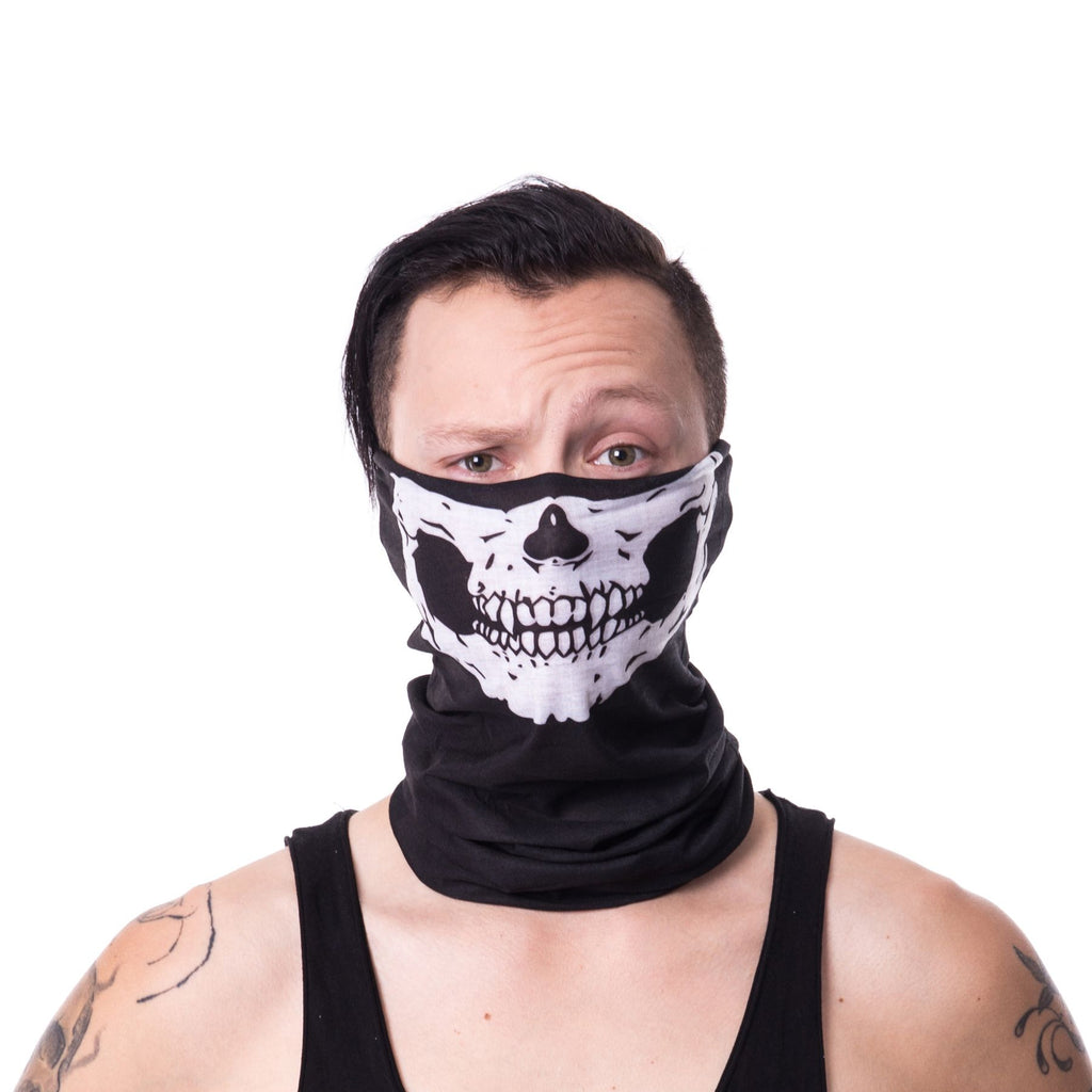 Poizen Snood Skull