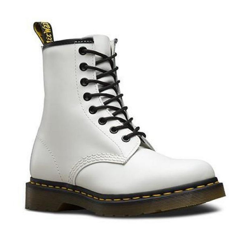 Dr. Martens Smooth White