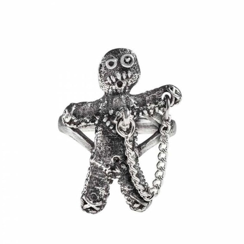 Alchemy England Voodoo Doll Ring