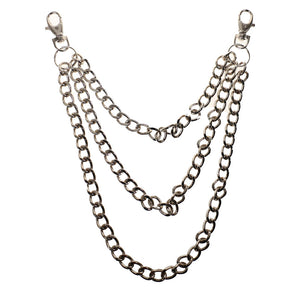 Y106013 - Triple Diamond Metal Chain