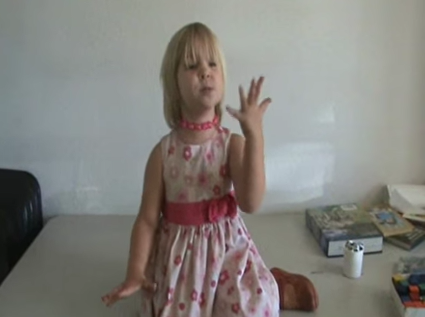 2-year-old Memorizes PI (video)