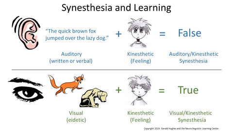 synesthesia and learning