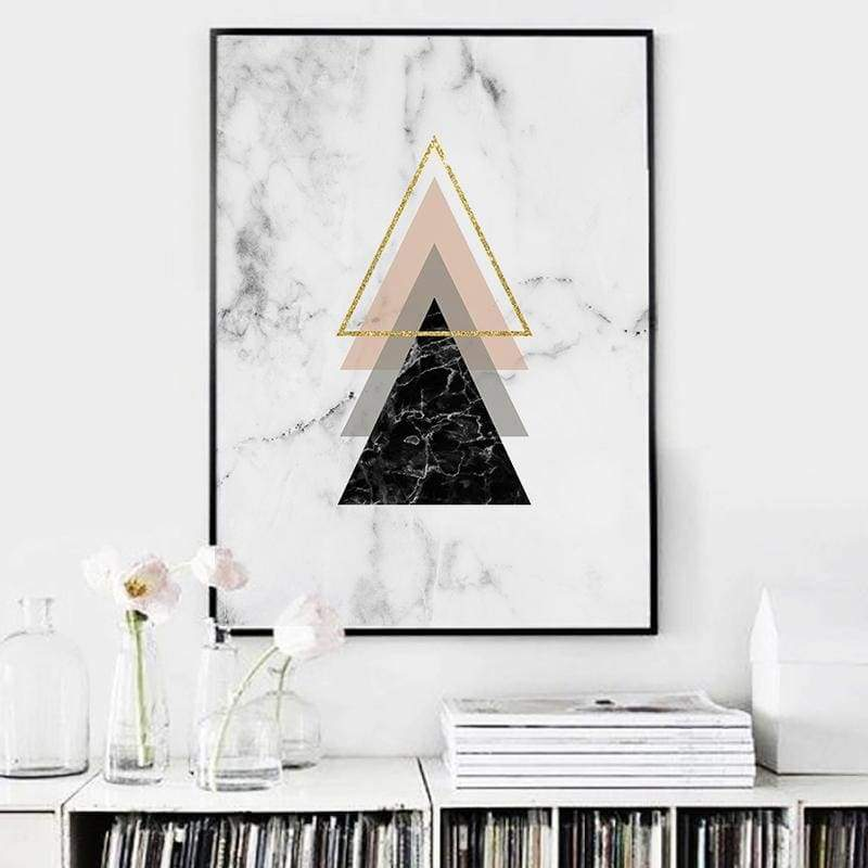 And 3 - 20X25Cm (8X10 Inches) / Triangle - Prints