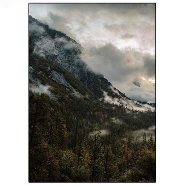 Bold Valleys - 20X30 Cm (8X12 Inches) / Left - Prints
