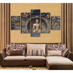 Buddha Statue - Canvases