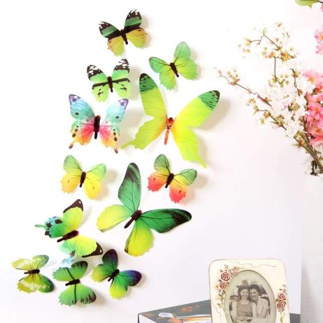 Butterfly Freedom - Green