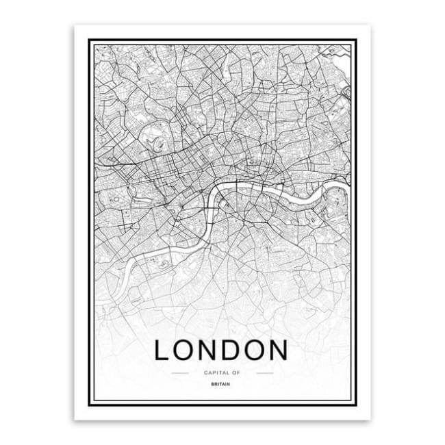 Cities - Part 1 - 20X30 Cm (8X12 Inches) / London
