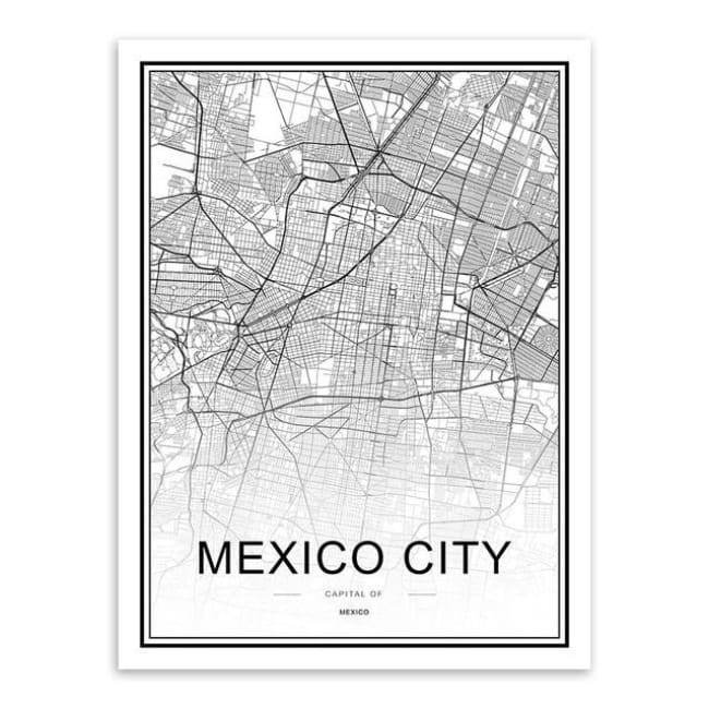 Cities - Part 2 - 20X30 Cm (8X12 Inches) / Mexico City
