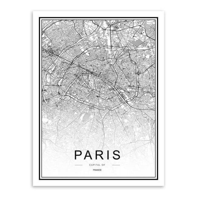 Cities - Part 2 - 20X30 Cm (8X12 Inches) / Paris