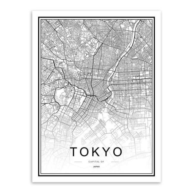 Cities - Part 2 - 20X30 Cm (8X12 Inches) / Tokyo
