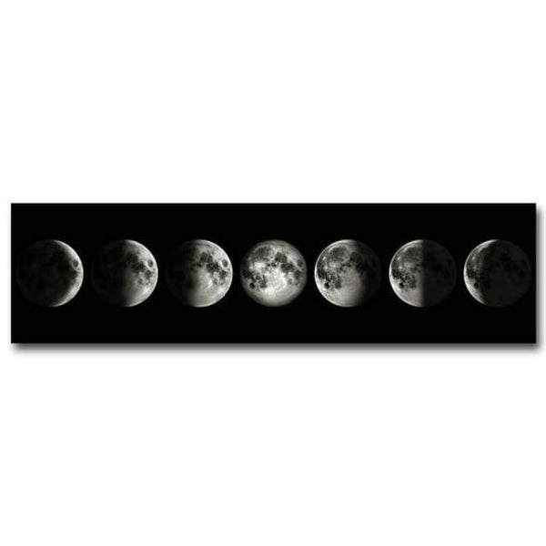 Eclipse Of The Moon - 20X75Cm (8X28 Inches) - Prints