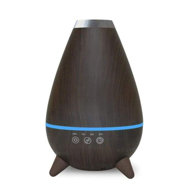Egglectric Air Humidifier - Dark Wood / Au - Humidifiers