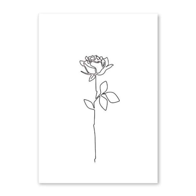 Feminine - 20X30 Cm (8X12 Inches) / Flower