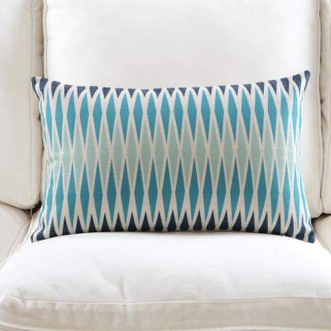 Fresh Blue Cushion Covers - Tight 1 - 30X50Cm (12X20 Inches)