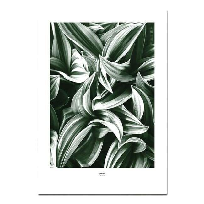 Green Leaves - 20X30 Cm (8X12 Inches) / Leaves
