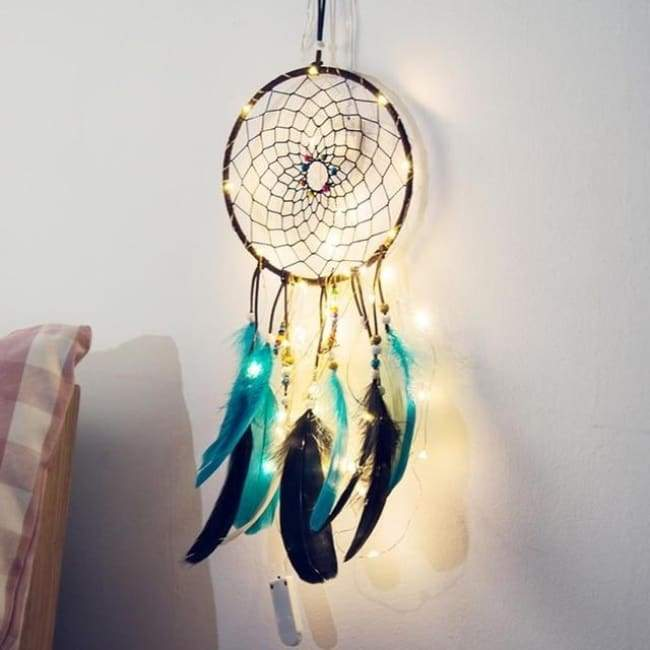 Lightup Dreamcatchers - Turquoise