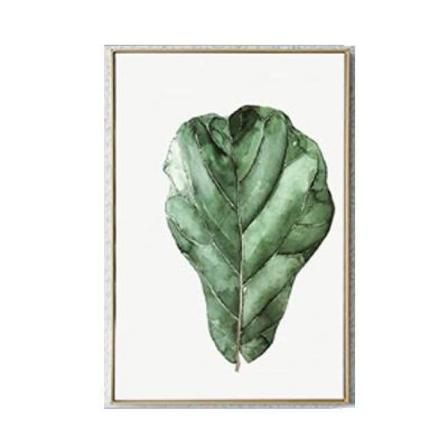 Living Green - 20X30 Cm (8X12 Inches) / Leaf 2