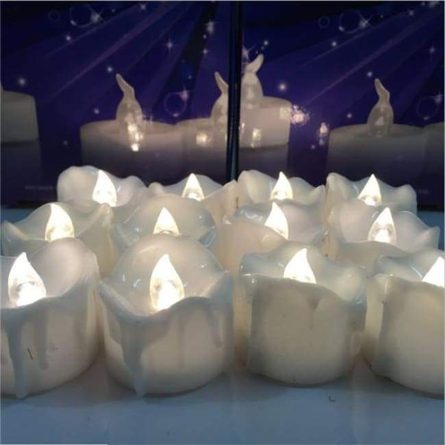 Melting Love - White Flame - Decor Lights