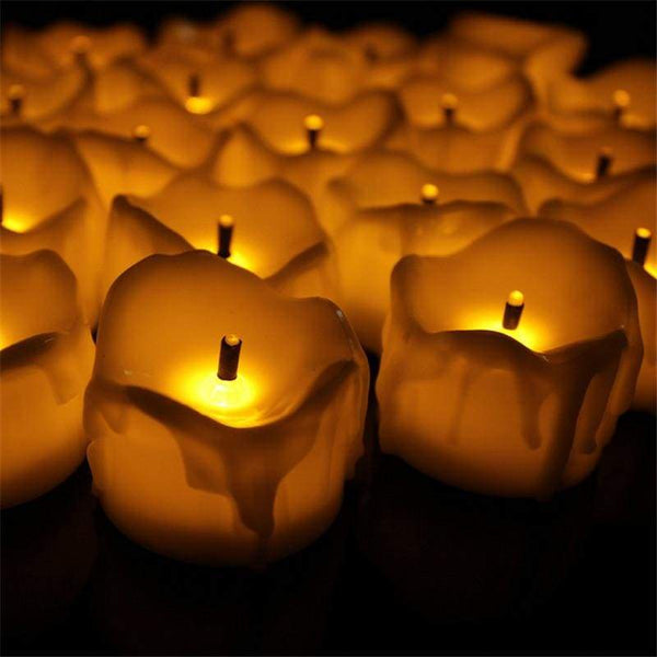 Melting Love - Yellow - Wick - Decor Lights