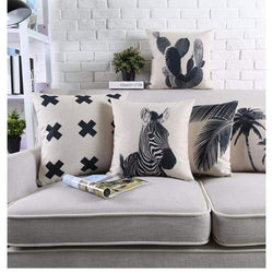 Modern Tropica Cushion Covers