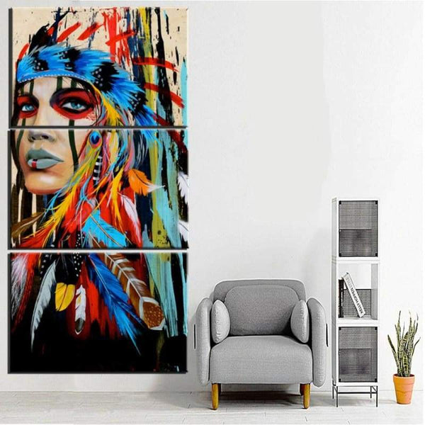 Native In Colours - Canvases